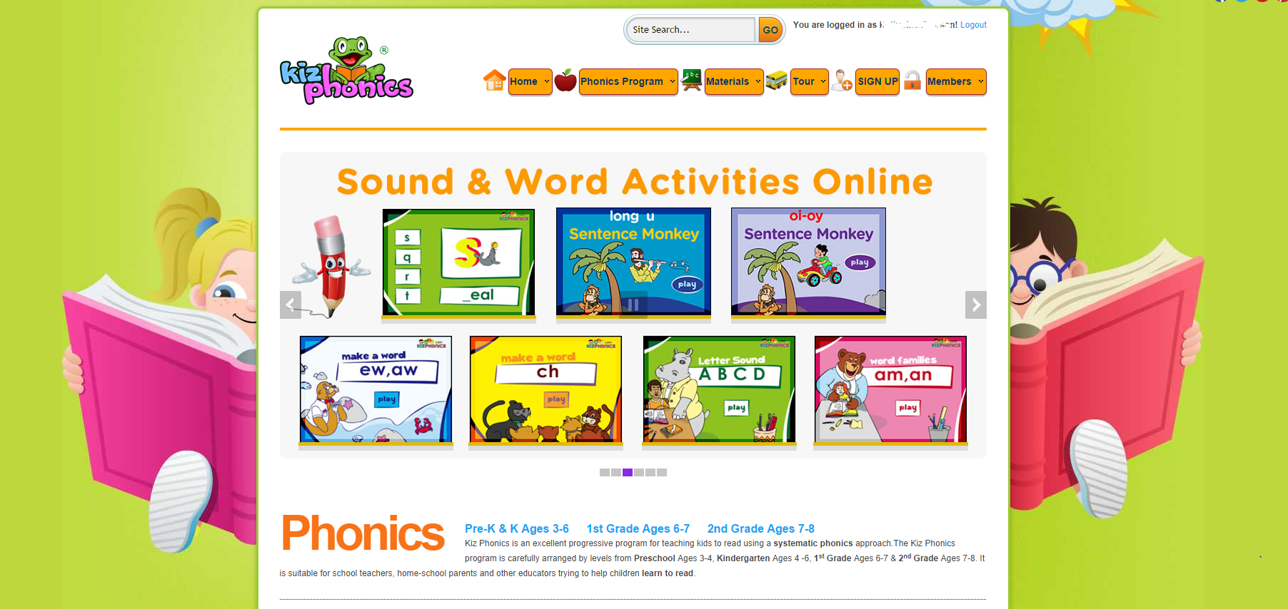 Worksheet Online Phonics Programs kizphonics teachezwell blog if you are uncertain about a scope and sequence for teaching phonics this site is the lessons materials leveled by grade pre kindergarten