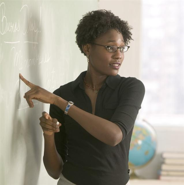 Image result for image of black woman teaching in class