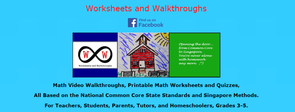 worksheets and walkthroughs