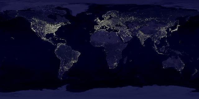 earth- at night