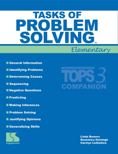 Tasks of Problem Solving