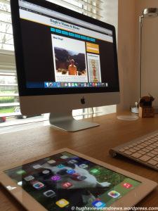 Hugh's Workspace Blog Hop