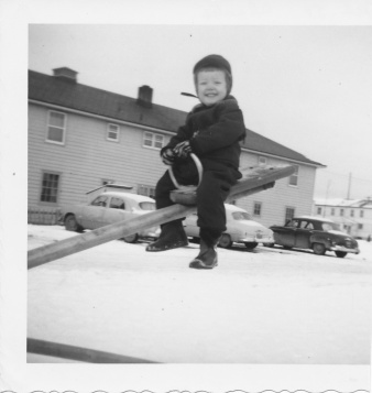 Feb 1954 Karen in Alaska