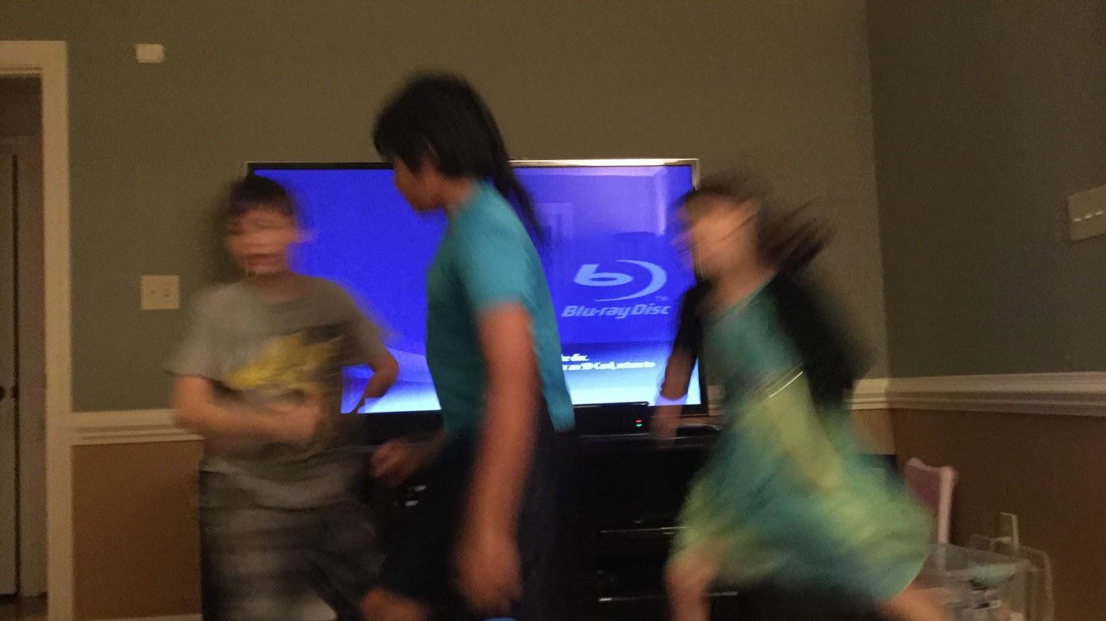 dancing kiddos