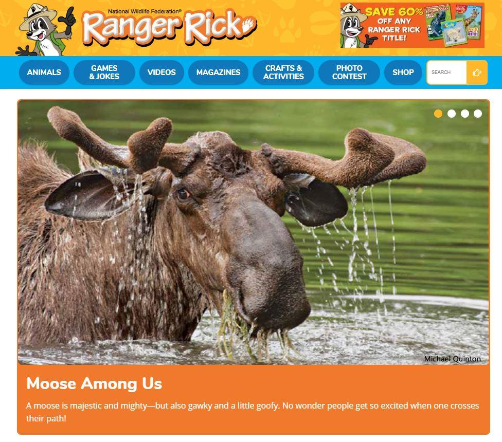 Ranger Rick online